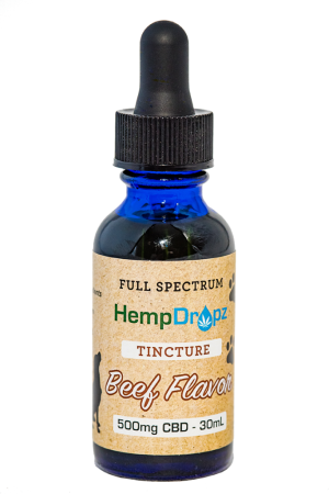 Beef Flavored CBD Tincture for Pets